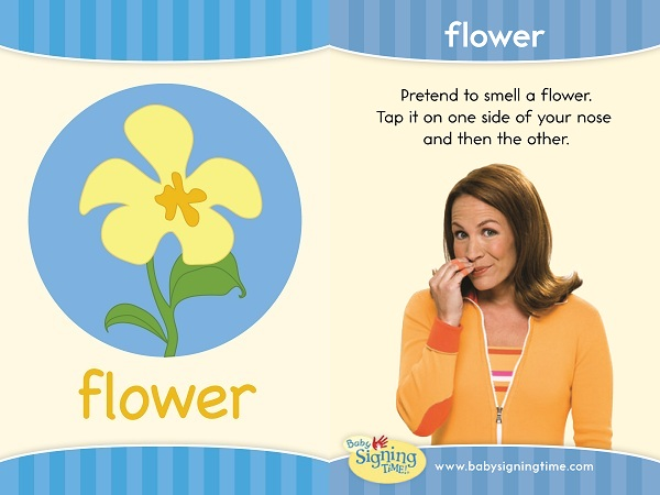 Flower in American Sign Language