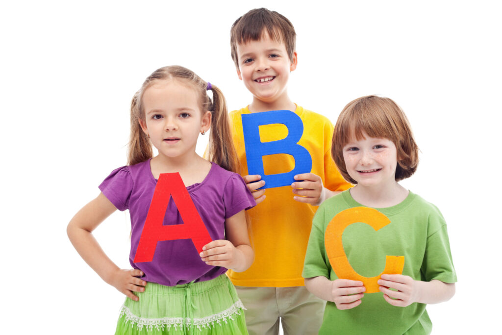 kids learn the alphabet