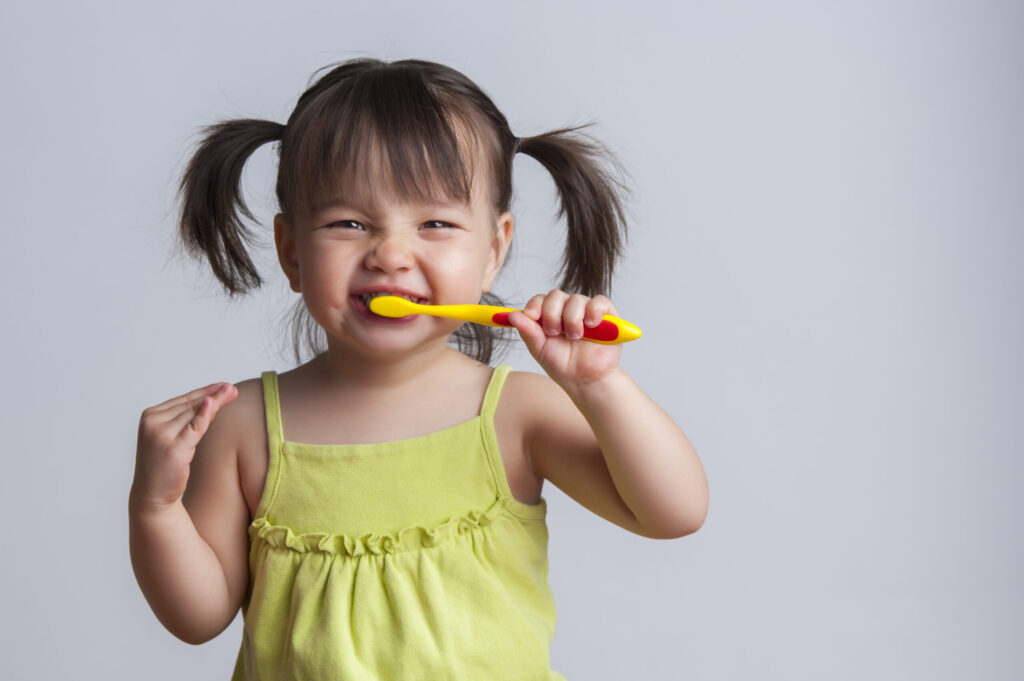 help kids learn good oral care