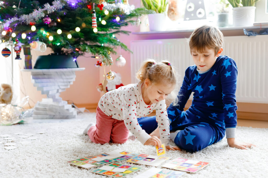 holiday games for busy, happy kids