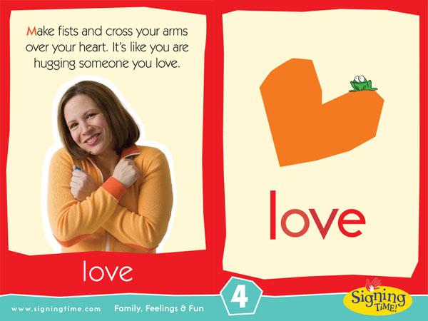 ASL sign for love