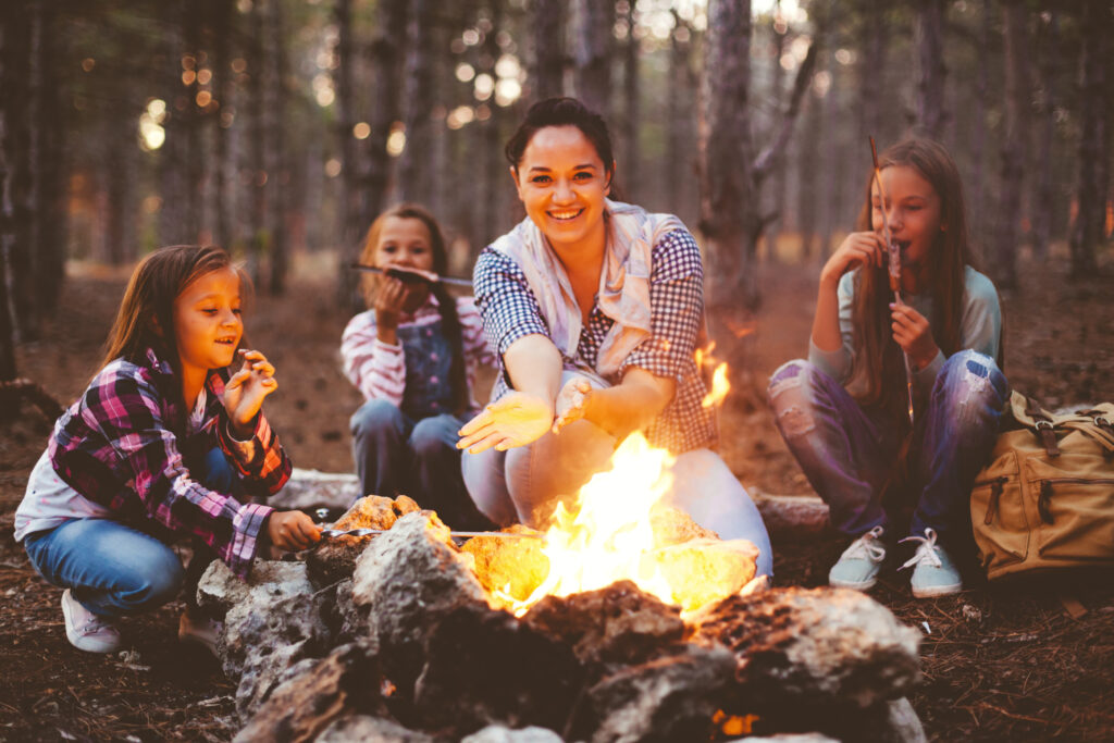 camping with little ones