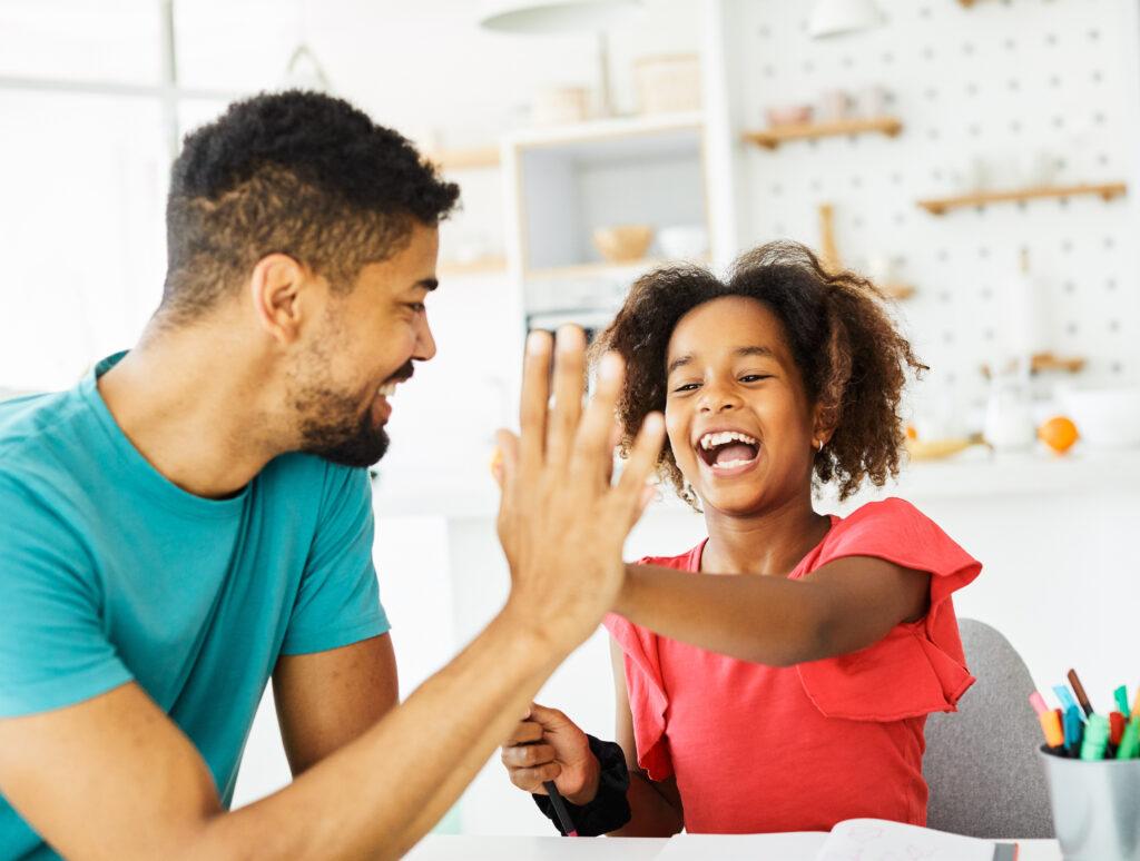 modeling positive behaviors for our children