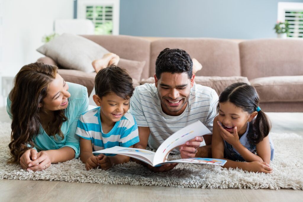 using stories to help our kids